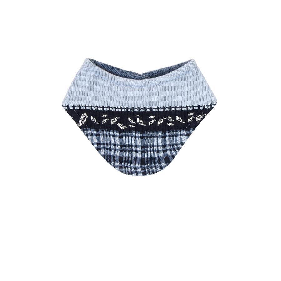 MaxiMo Baby Halstuch mit Feuchtschutz denim-cerulean