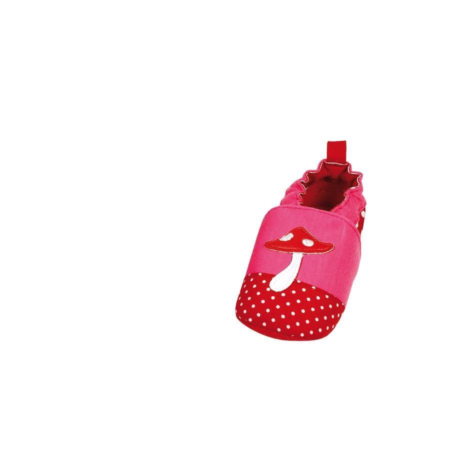 MAXIMO - Boty s protiskluzovou podrážkou houba růžovo-červené