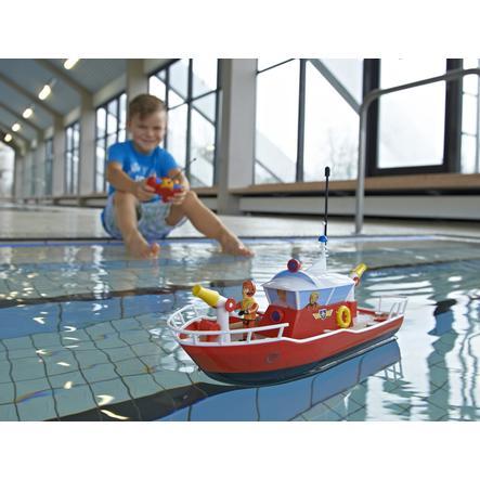 Dickie toys 203099621 radiocommand bateau sam le pompier titan - Bateau sam le pompier ...