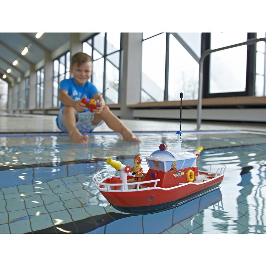 Dickie RC Sam il Pompiere - Barca di salvataggio Titan