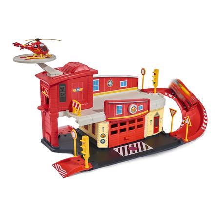 Dickie brandweerman Sam - Brandweerkazerne