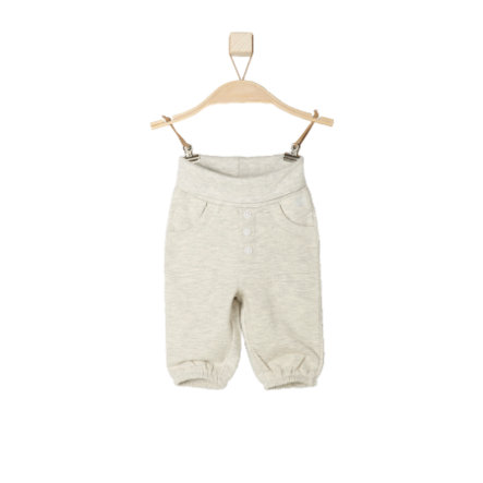s.OLIVER Girl s Pantalon de survêtement bébé écru mélangé