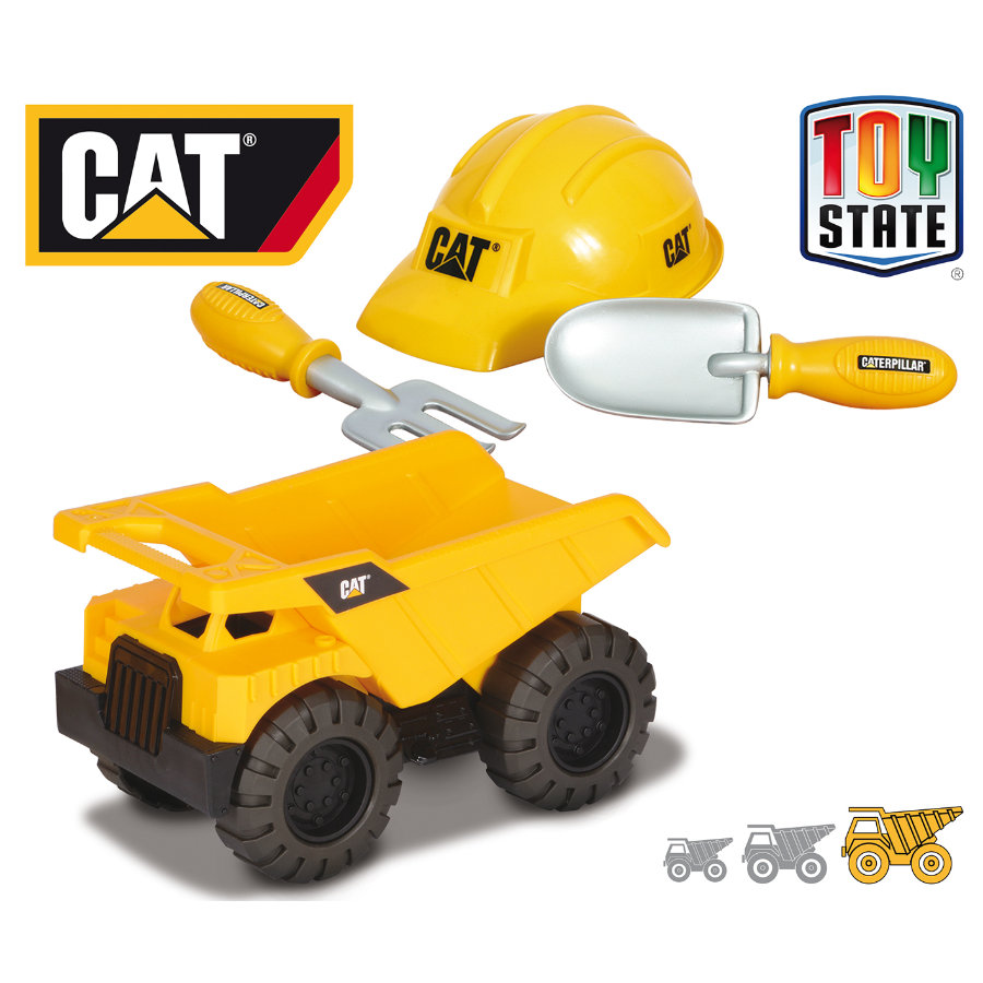 CAT Construction Crew Sand-Set - Kipplastwagen