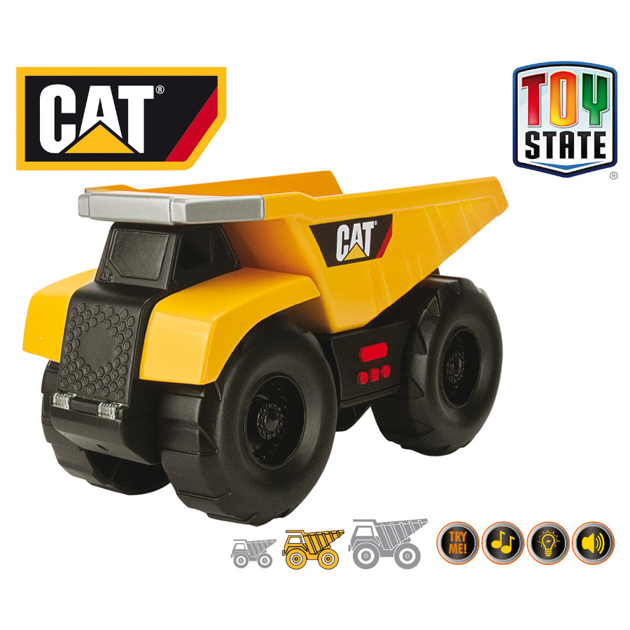 CAT Big Builder L&S - Kiepwagen