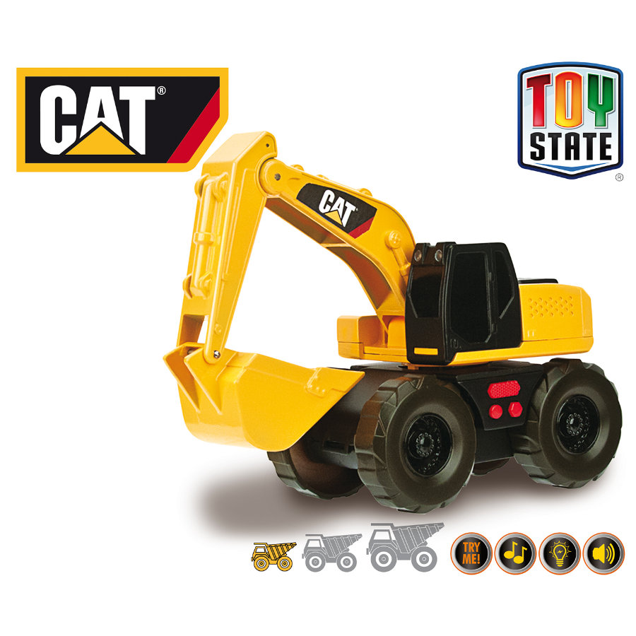 HAPPY PEOPLE CAT Mini Mover - Excavatrice