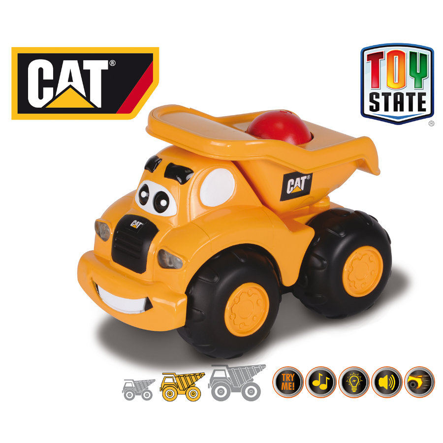 HAPPY PEOPLE CAT Roll 'N Go Machines - Camion-benne Haulin´ Harry