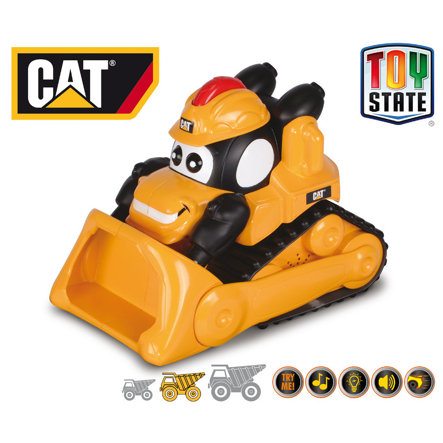 CAT Roll 'N Go Machines Hjullastare Powerhouse Pet