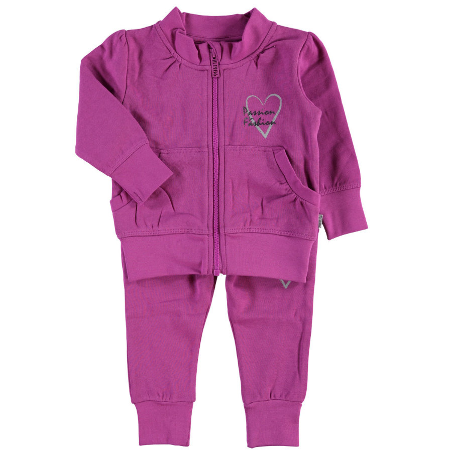 NAME IT Girls Mini Sweat-Set NITKAYLA purple orchid