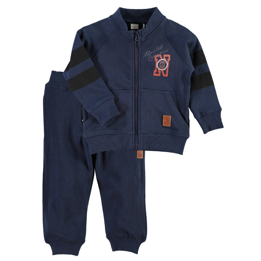 NAME IT Boys Mini Sweat-Set NITKEENAN dress blues