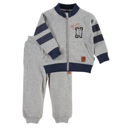 NAME IT Boys Mini Komplet 2-częściowy NITKEENAN grey melange
