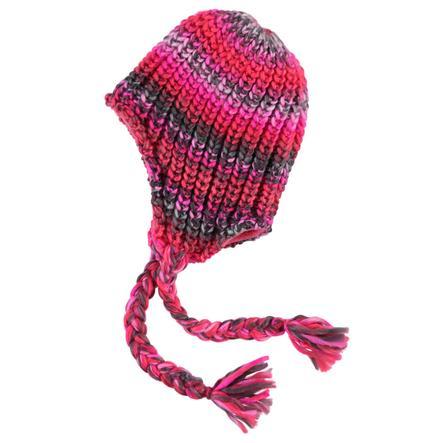 NAME IT Girl s Mini bonnet tricoté NITMALINA néon corail