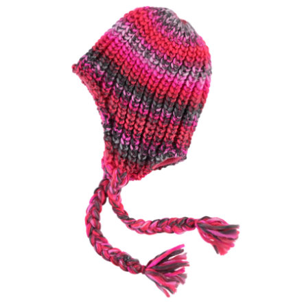 NAME IT Girls Mini Strickmütze NITMALINA neon coral