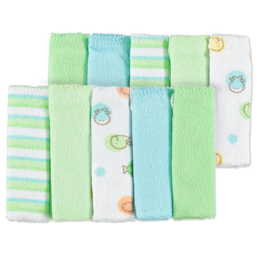 Pink or Blue Handdoeken 4 stuks geel