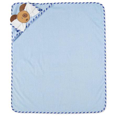 PINK OR BLUE Osuška a žínka modré