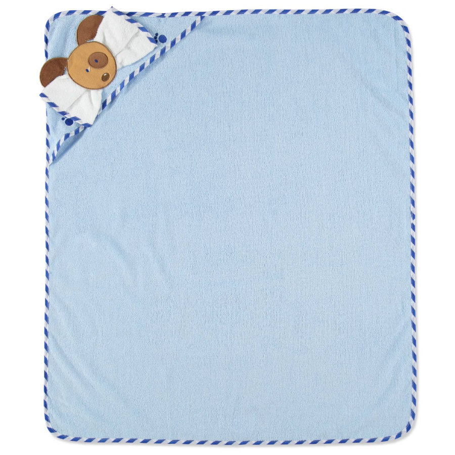 PINK OR BLUE Waschset 2 teilig blau