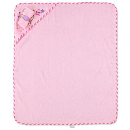 Pink or Blue Wassetje 2-delig roze