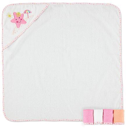 PINK OR BLUE Tvättset, 4 delar - blå
