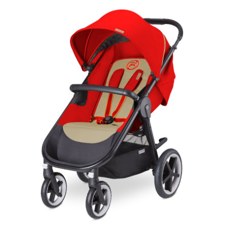 CYBEX Wózek spacerowy Eternis M-4 Autumn Gold-burnt red