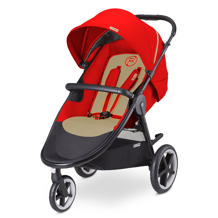 CYBEX GOLD Passeggino Buggy Eternis M-3 Autumn Gold-burnt red, colore rosso