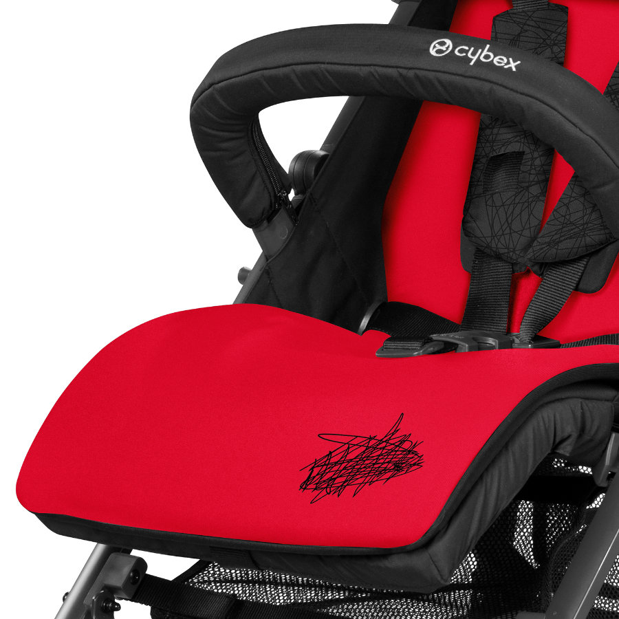 CYBEX Buggy Sittdyna Hot & Spicy-red