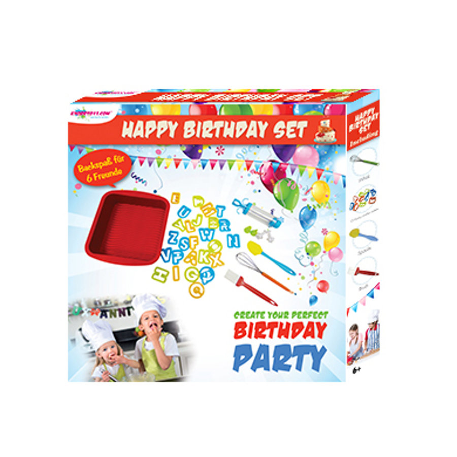 "KNORRYTOYS Backset ""Happy Birthday"""