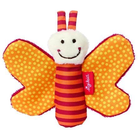 SIGIKID Greifring Knister-Schmetterling, orange