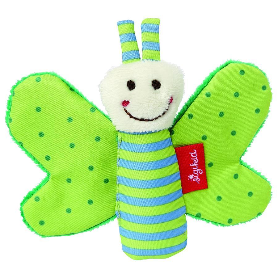 SIGIKID Greifring Knister-Schmetterling, grün