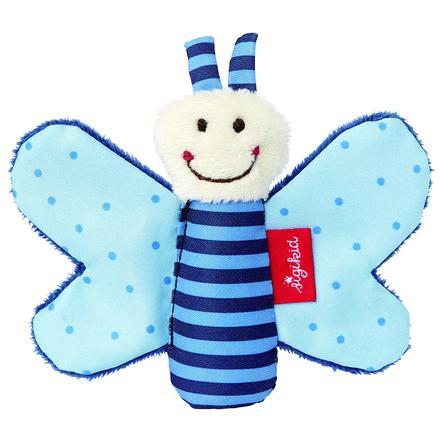 SIGIKID Greifring Knister-Schmetterling, blau