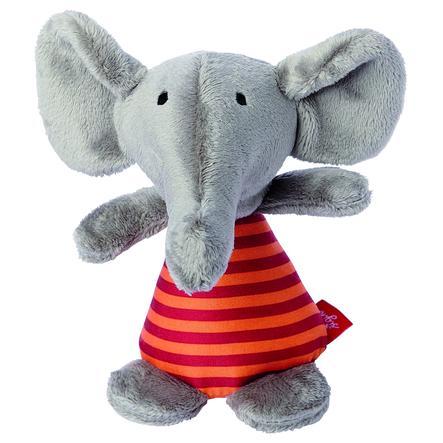 sigikid® Rassel Elefant Red Stars Collection