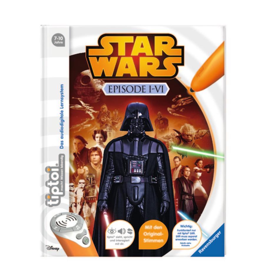 RAVENSBURGER tiptoi® - Star Wars Épisodes 1-6