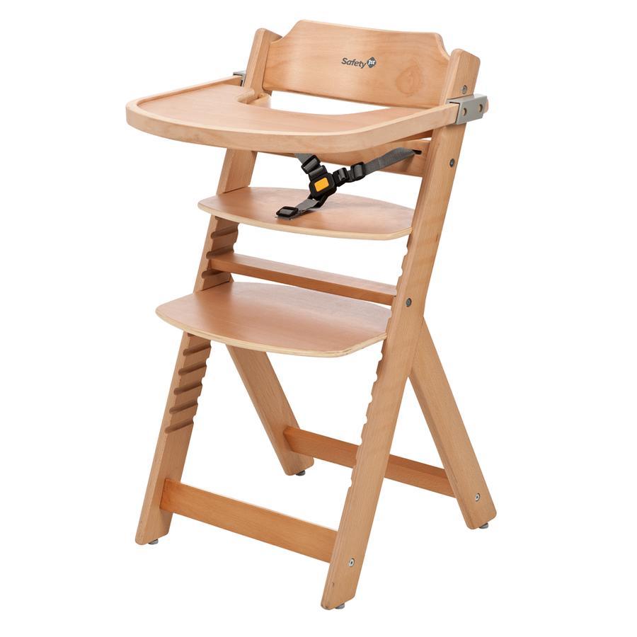 Safety 1st Chaise haute bébé Timba, hêtre