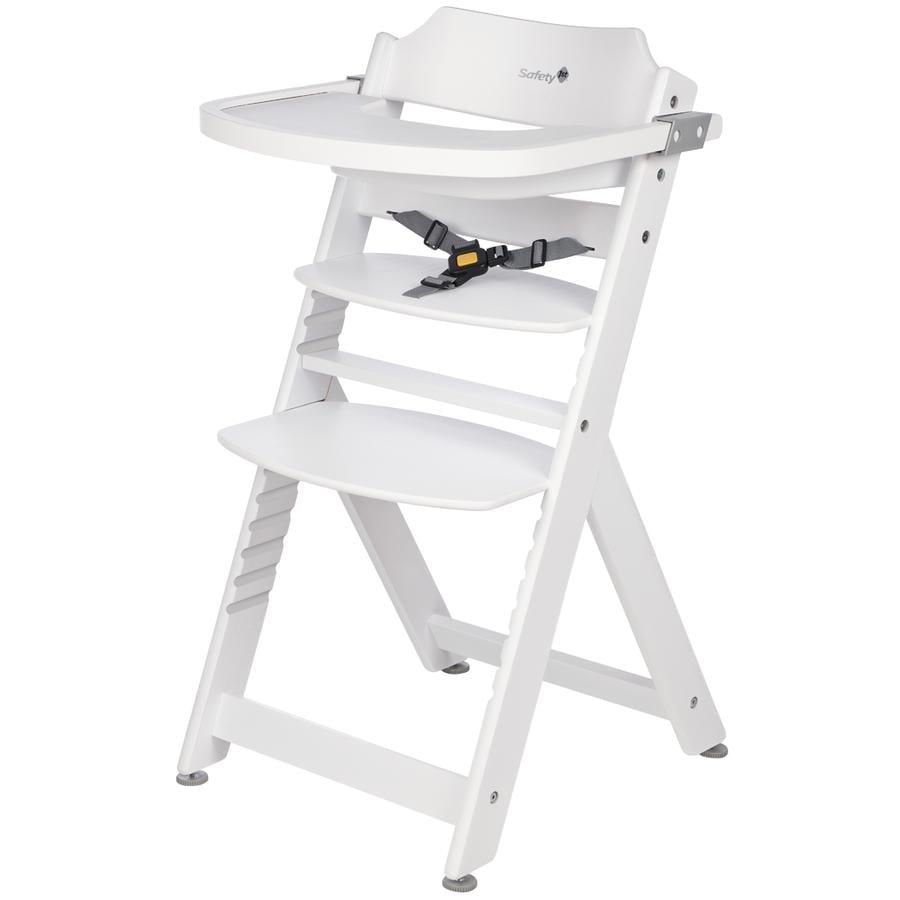SAFETY 1ST Rostoucí jídelní židlička Timba bílá