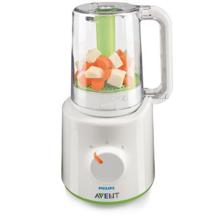 AVENT/PHILIPS dampkoger & mixer SCF870/20 BPA fri køkkenmaskine