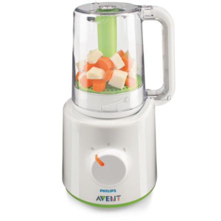 Vařič a mixér AVENT/PHILIPS neobsahující BPA, SCF870/20