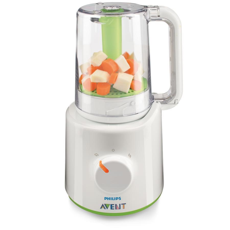 AVENT/PHILIPS Robot cuiseur vapeur et mixeur SCF870/20 Sans BPA