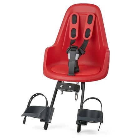 bobike Siège de vélo enfant Mini One Strawberry Red
