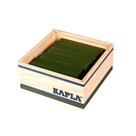 KAPLA Bouwstenen 40 stuks in kist groen