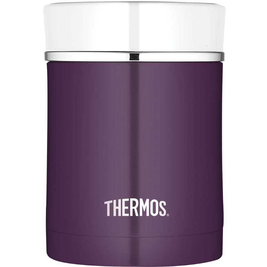 THERMOS® Matbehållare Sipp - plum/white 0,47 l
