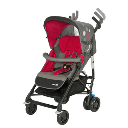 SAFETY 1ST Sittvagn Easy Way Red Mania