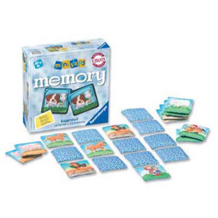RAVENSBURGER ministeps Farm Memory Game