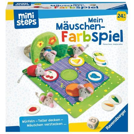 Ravensburger mini steps® Mijn kleine muisjes spelen in kleur