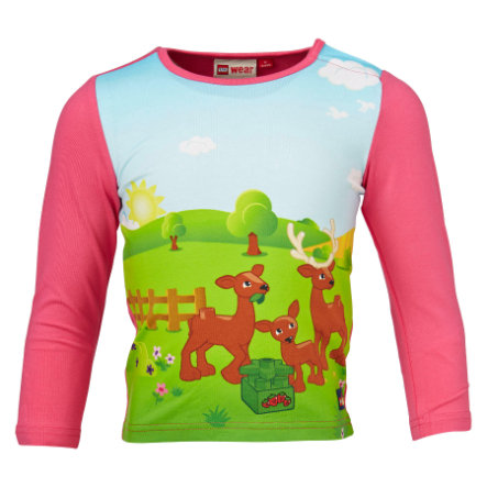 LEGO WEAR Duplo Girls T-shirt à manches longues TINA 606, rose vif