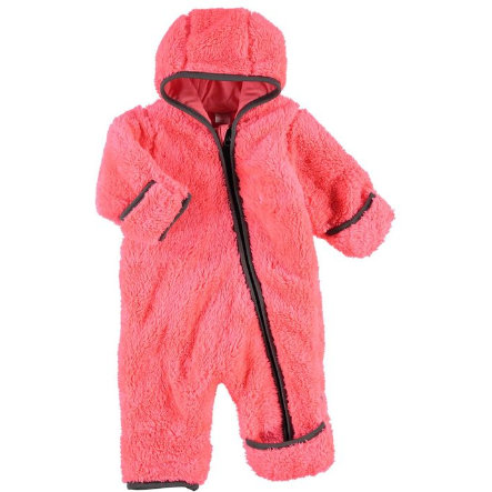NAME IT Girls Baby Plüschoverall NITTEDDY neon coral