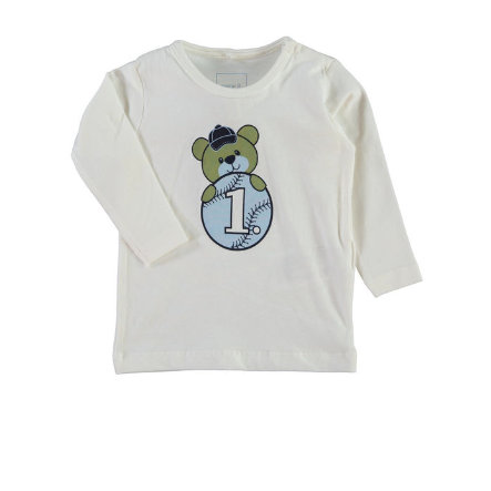 NAME IT Boys Baby Longsleeve NITLARRY cloud dancer
