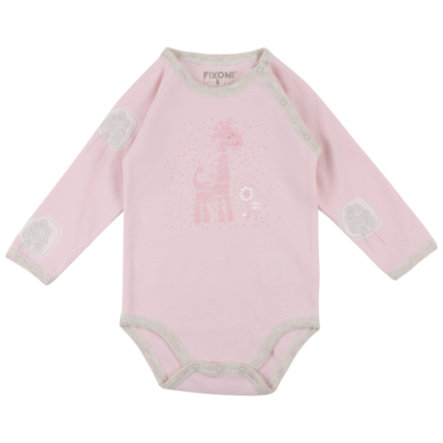 FIXONI Girls Baby Body 1/1 Arm rosé
