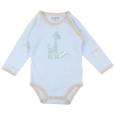 FIXONI Boys Baby Romper 1/1 Arm blue