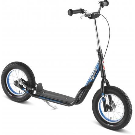 PUKY Monopattino R7L con ruote a camera d'aria, nero 5430