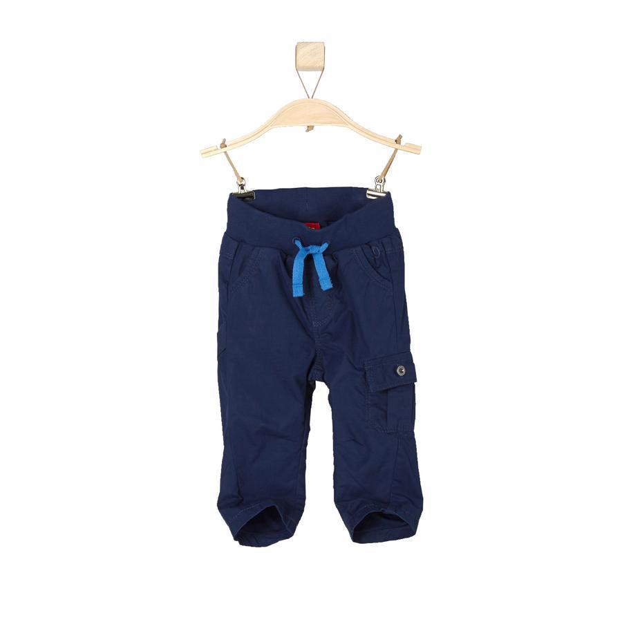 s.OLIVER Boys Mini pantalón azul oscuro