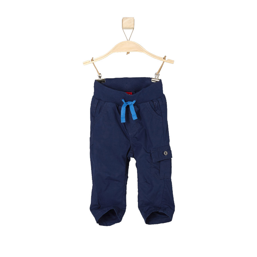 s.OLIVER Boys Mini Spodnie dark blue