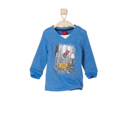 s.OLIVER Boys Mini Longsleeve blauw